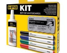 Kits para quadro branco magnético e não magnético